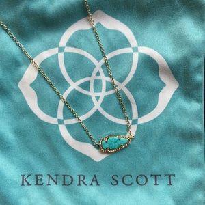 Kendra Scott Turquoise Arrow Necklace